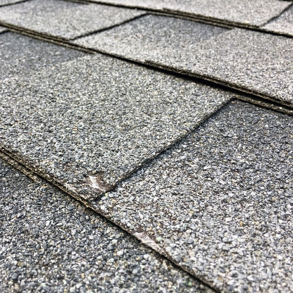 shingle damage from hail strike