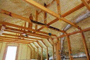 Attic with Insulation