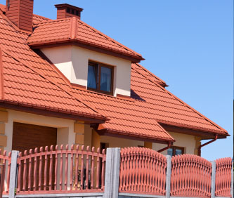 imitation tile roof